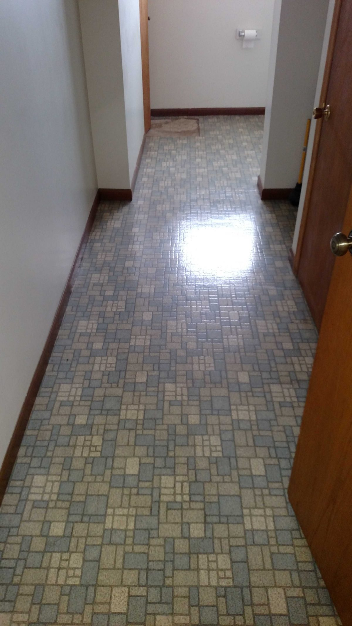 Ctn Before Linoleum To Be Removed