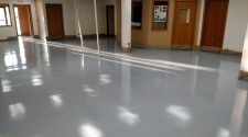 Removal Linoleum and Epoxy Application