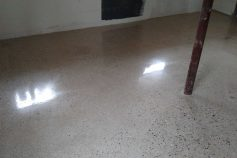 Basement Concrete Polish and Concrete Repair