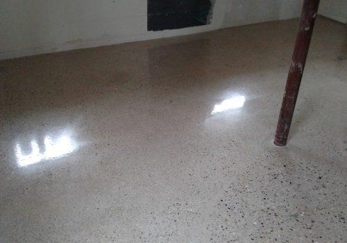 Basement Concrete Polish and Concrete Repair