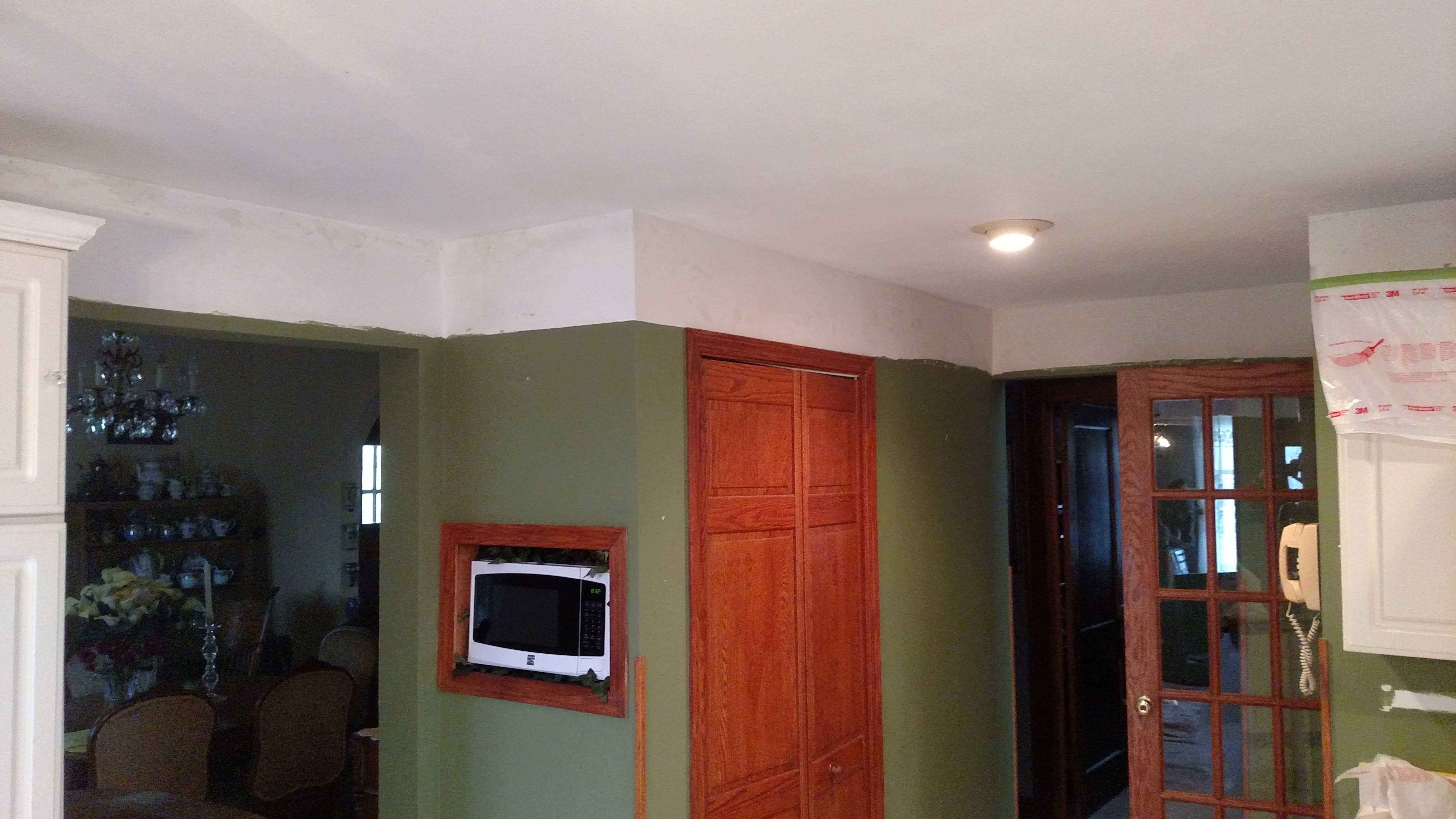 Kitchen Repaint Before